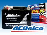 ACデルコバッテリーDT4L-BS