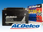 ACデルコバッテリーDT9B-4