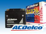 ACデルコバッテリーDTZ7S