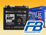 古河バッテリーFTX14-BS